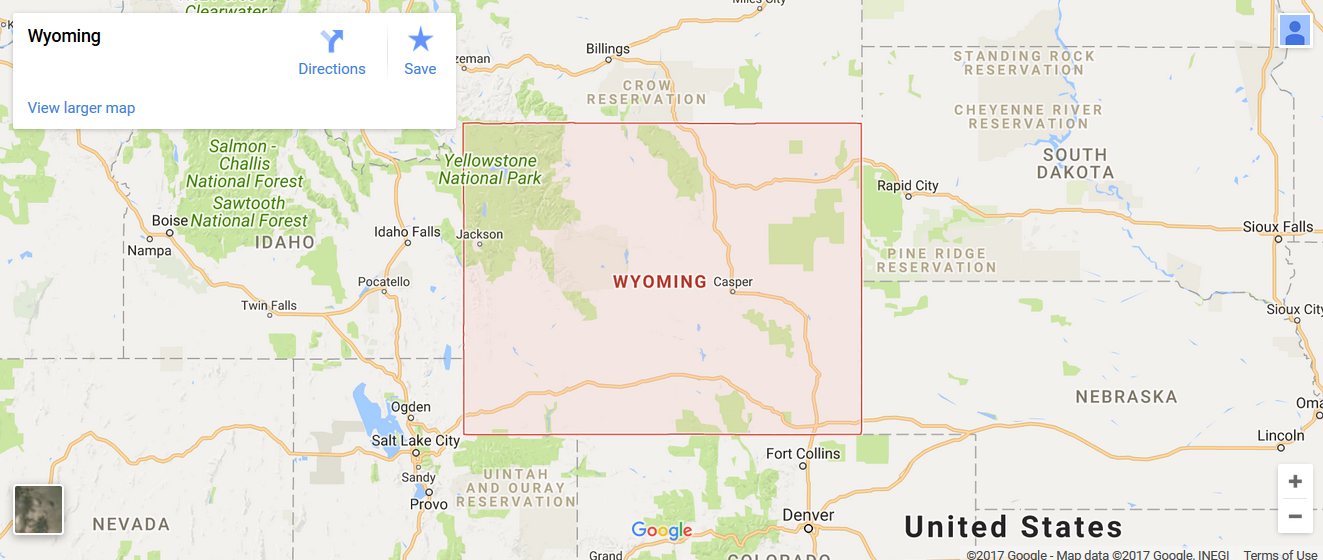 State of Wyoming